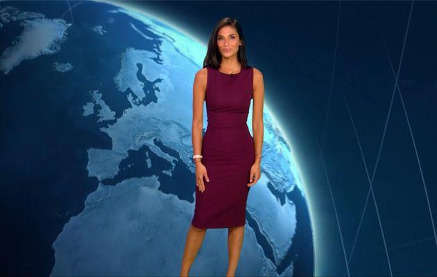 Tatiana Silva Météo TF1 le 25.08.2017