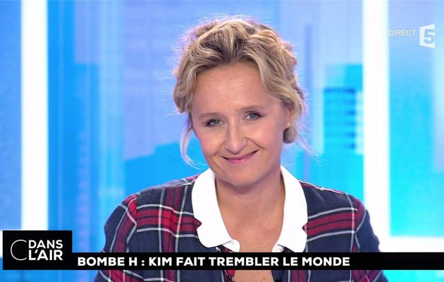 Caroline Roux C Dans l'Air France 5 le 04.09.2017