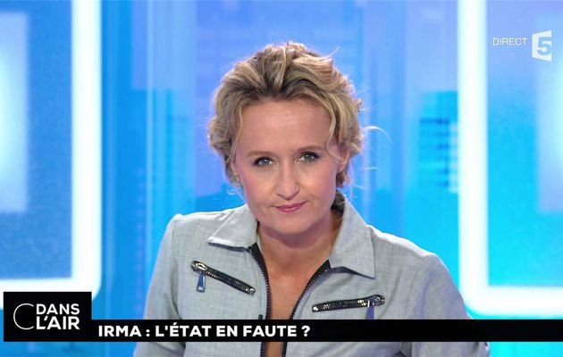 Caroline Roux C Dans l'Air France 5 le 11.09.2017