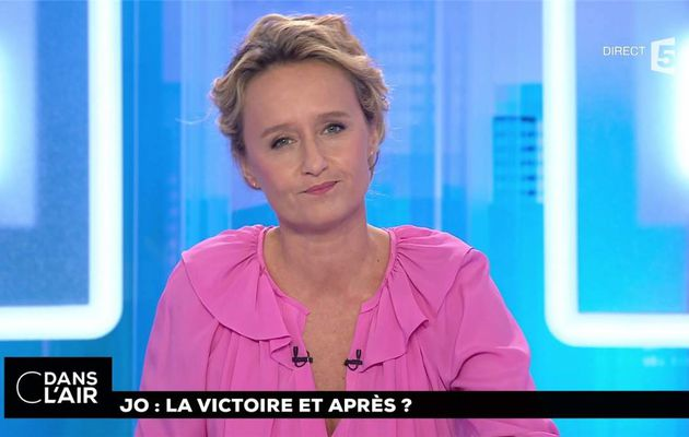 Caroline Roux C Dans l'Air France 5 le 14.09.2017