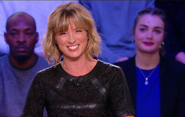 Isabelle Ithurburu Canal Rugby Club Canal+ le 17.09.2017
