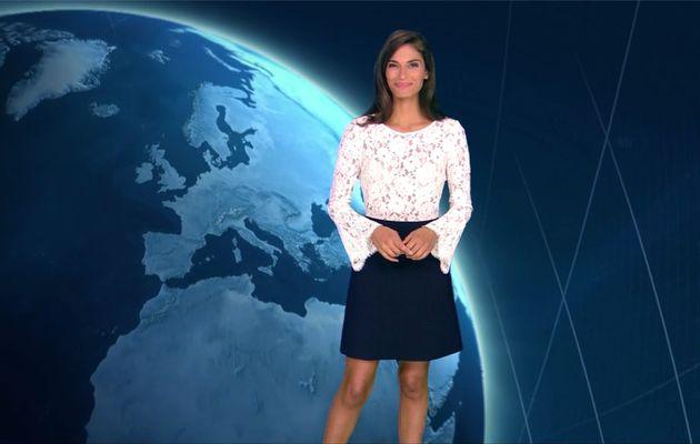 Tatiana Silva Météo TF1 le 23.09.2017