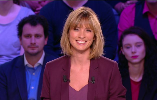 Isabelle Ithurburu Canal Rugby Club Canal+ le 01.10.2017