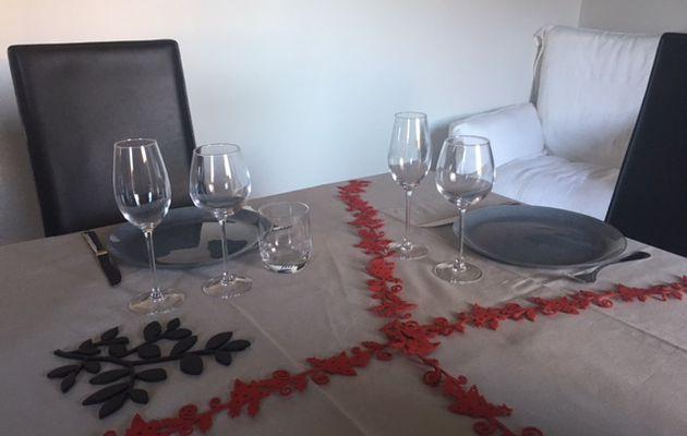 Une belle table de fête avec Luminarc
