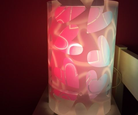 La lampe de chevet de Frisouille