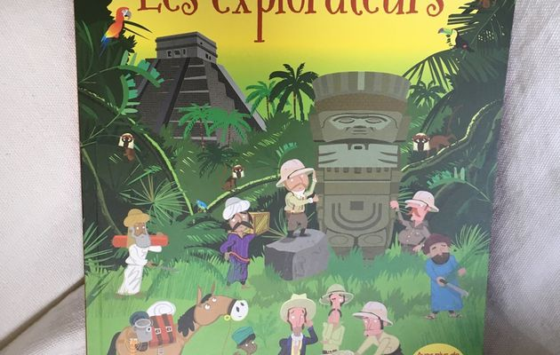 Les explorateurs – Editions Usbornes