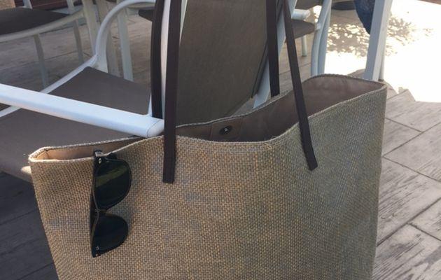 Le parfait sac de plage avec Dalery Maroquinier