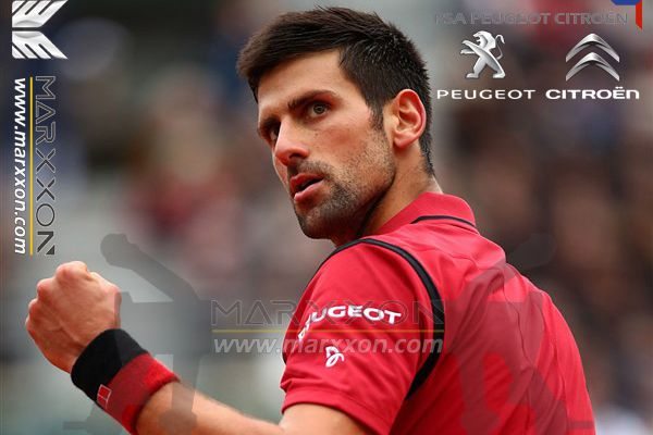 Marxxon congratulations to Peugeot brand ambassador Novak Djokovic won the French Tennis Open Roland