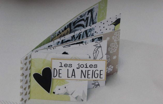 Atelier Scrap-Plaisir : Réaliser un mini album Grande Ourse