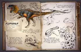 le dilophosaure