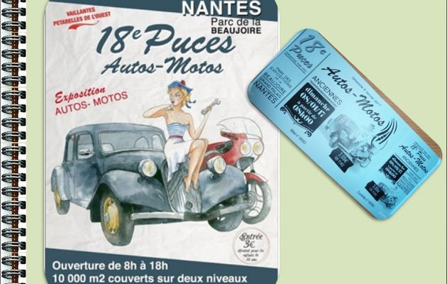 18 eme Puces Autos / Motos - La Beaujoire