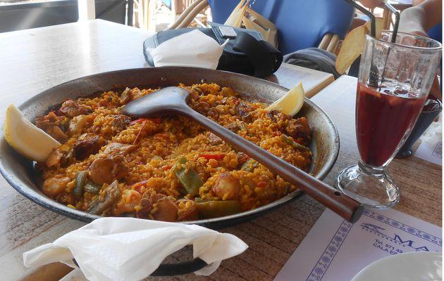 Voyage à Majorque Partie 4 (Restaurante Mar)