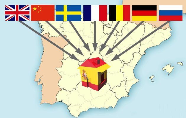 Au 1er semestre 2016, les Étrangers ont acheté 3 fois plus de logements en Espagne qu'en 2009 !