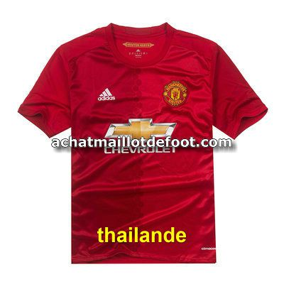 maillot manchester united 2017