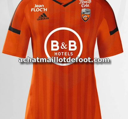 maillot equipe lorient 2017