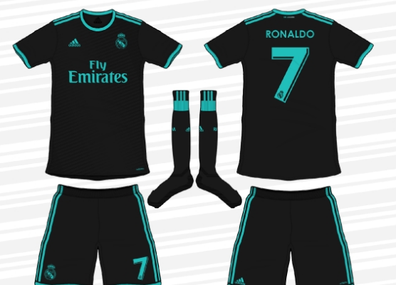 maillot equipe real madrid 2017 2018