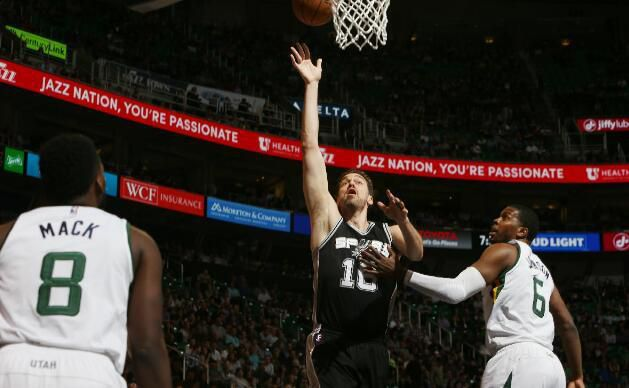 Utah Jazz 101-97 San Antonio Spurs