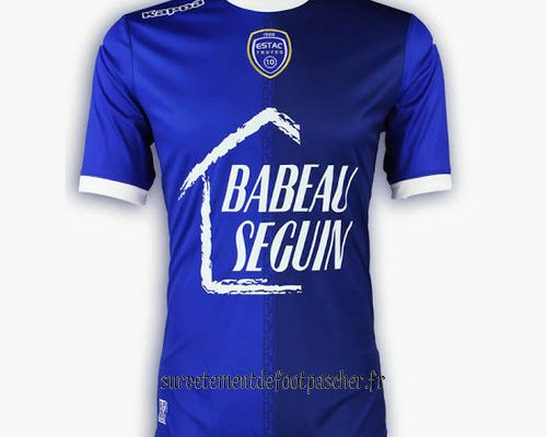maillot Troyes 17-18 domicile