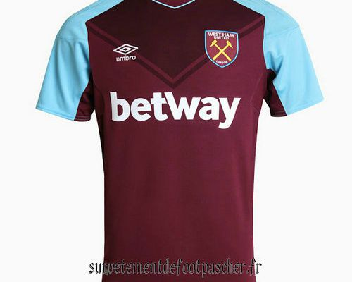 maillot de foot west ham 2018
