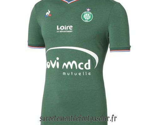maillot domicile as saint-etienne 2017-2018