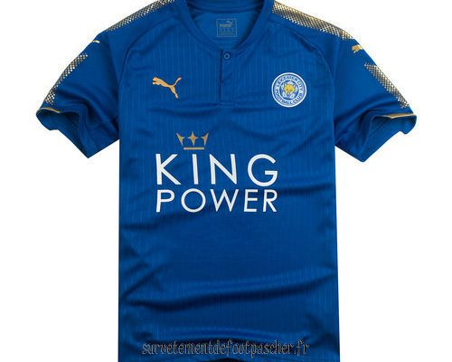 maillots de football Leicester City 2017-2018