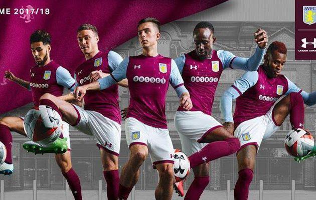 nouvelles maillot Aston Villa 2017/18