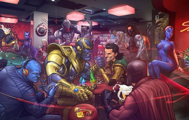 L'Univers de Marvel - LES MECHANTS