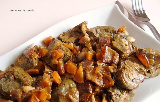 alcachofas a la barigoule (receta provenzal)