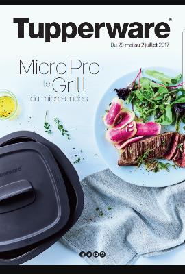 Mini catalogue promotions tupperware juin 2017