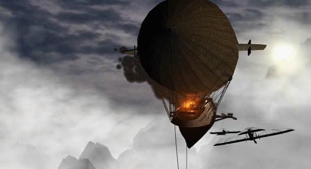 Les aventures de Jean Makhno 1- Le Zeppelin