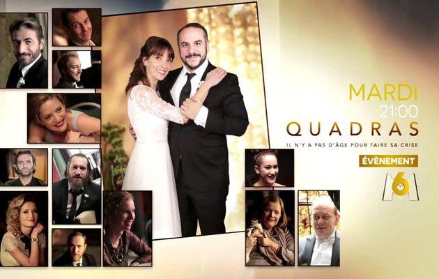 """Mardi prochain à 21h00 sur M6 deux nouveaux épisodes de """"Quadras"""". découvrez la bande-annonce"""
