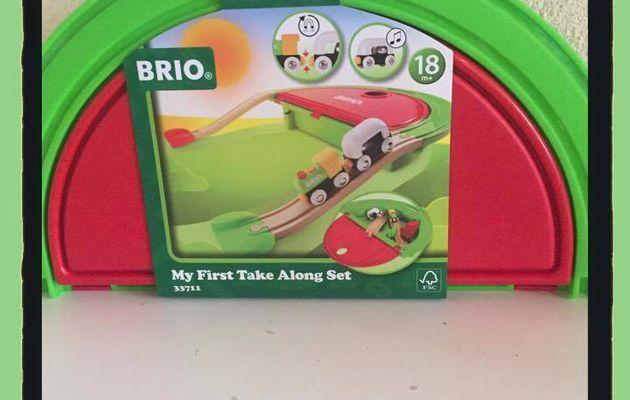 Mon premier train de voyage de Brio