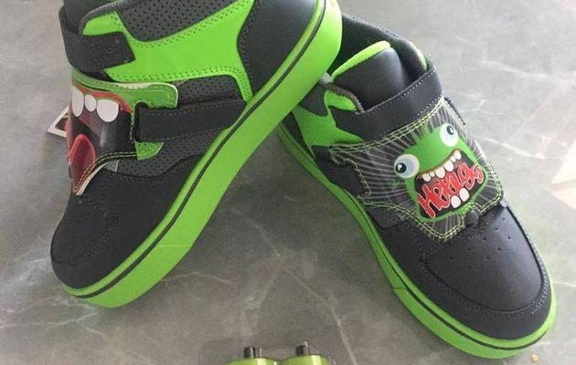 heelys la chaussure qui roule