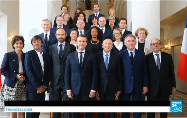Côte d'ivoire L'Elysée annonce les 22 membres du nouveau gouvernement français