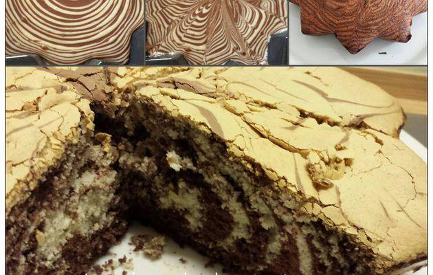  Le cake zebré de Chris