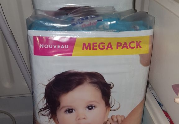 Promo Couches lingettes cotons Lotus Auchan 50% compte waaoh