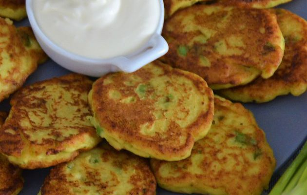 Chayote Fritters