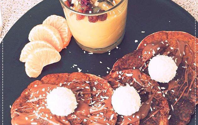 Pancakes à la banane vegan !