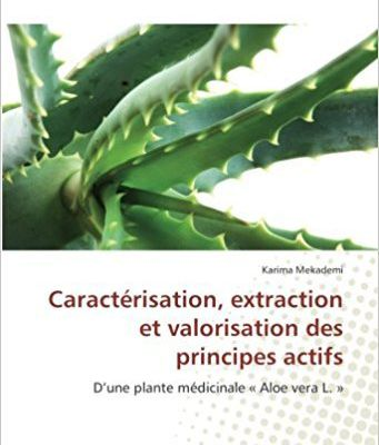 Caractérisation, extraction et valorisation des principes actifs: D'une plante médicinale « Aloe vera L. » Broché