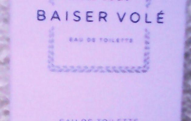 Petites attentions et grandes joies : Baiser Volé