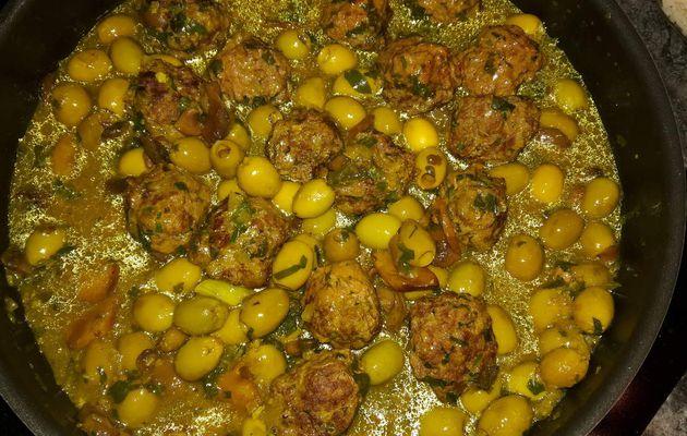 Tajine Kefta aux olives