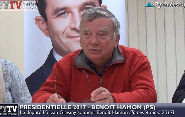 HPyTv Tarbes | Jean Glavany soutient Benoît Hamon (4 mars 2017)