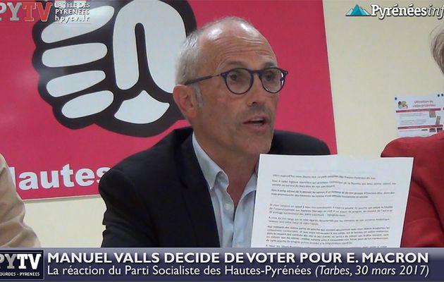 HPyTv Présidentielle :: L'appel du PS 65 aux électeurs (30 mars 2017)