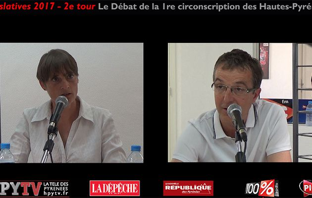 Débat Sempastous - Ferrer Partie 1 (Législatives 2017 Hautes-Pyrénées) | HPyTv Tarbes