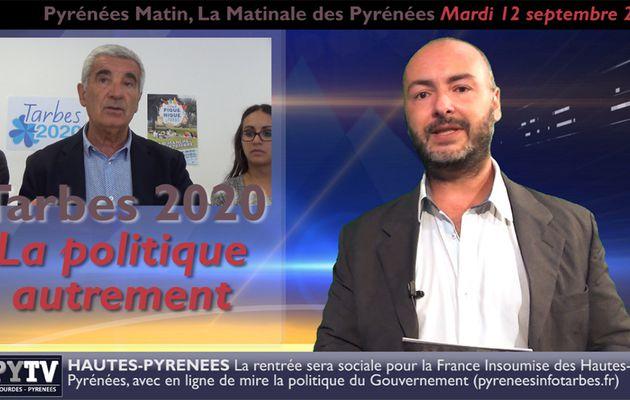 Pyrénées Matin #11 du 12 septembre 2017 | HPyTv Pyrénées