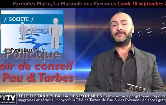 Pyrénées Matin #13 du 18 septembre 2017 | HPyTv Pyrénées