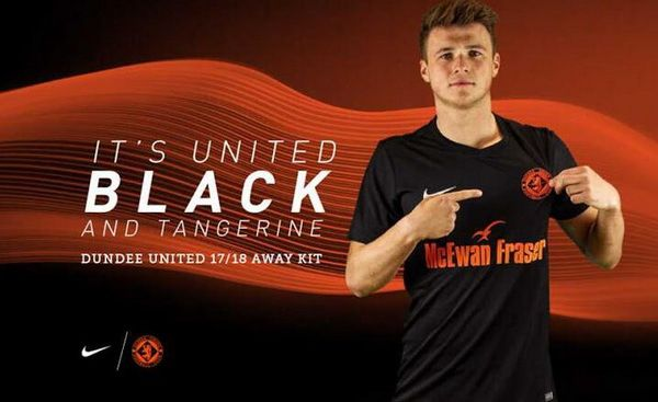 Maillots de foot Dundee United 2017 2018