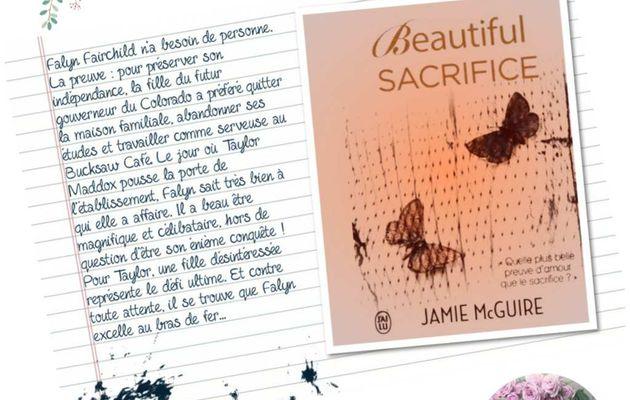 Mon avis sur Beautiful Sacrifice de Jamie McGuire