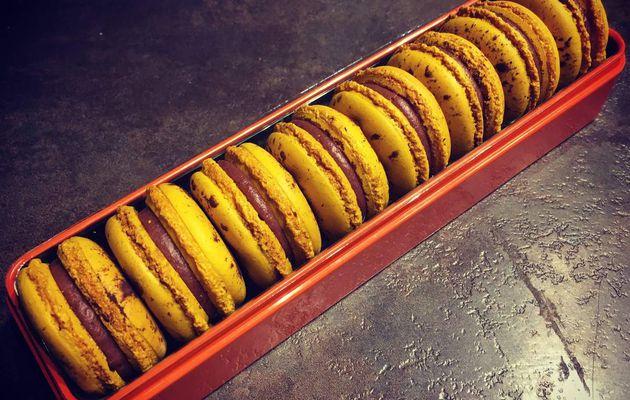 Macarons Mogador (Passion chocolat au lait) de Pierre Hermé