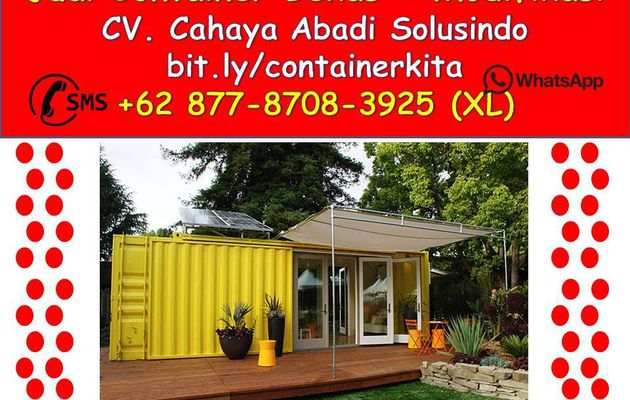 +62 877-8708-3925 (XL) Container Office Surabaya